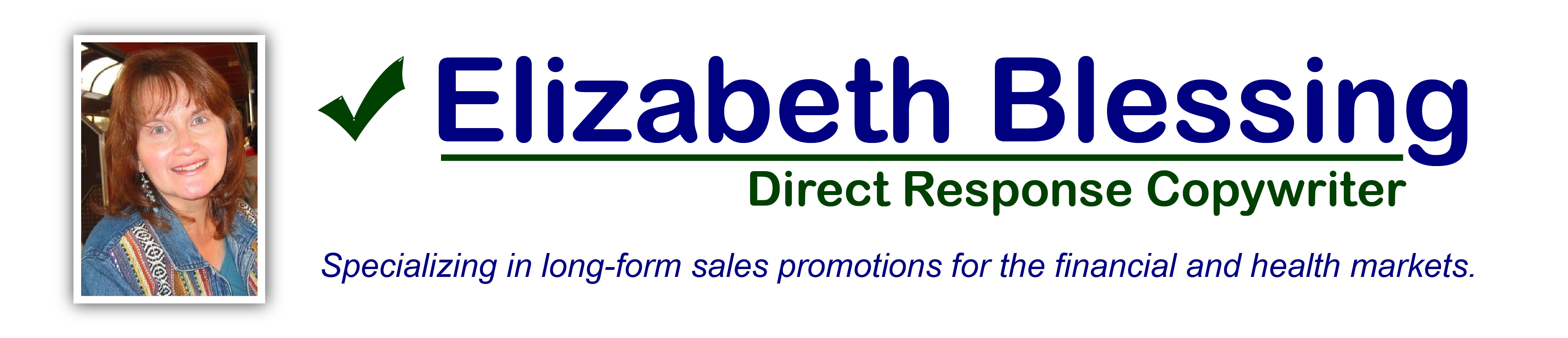 Direct Response Copywriter for the Financial and Health Markets
